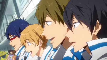 Free! Episode 12 | Saru Anime